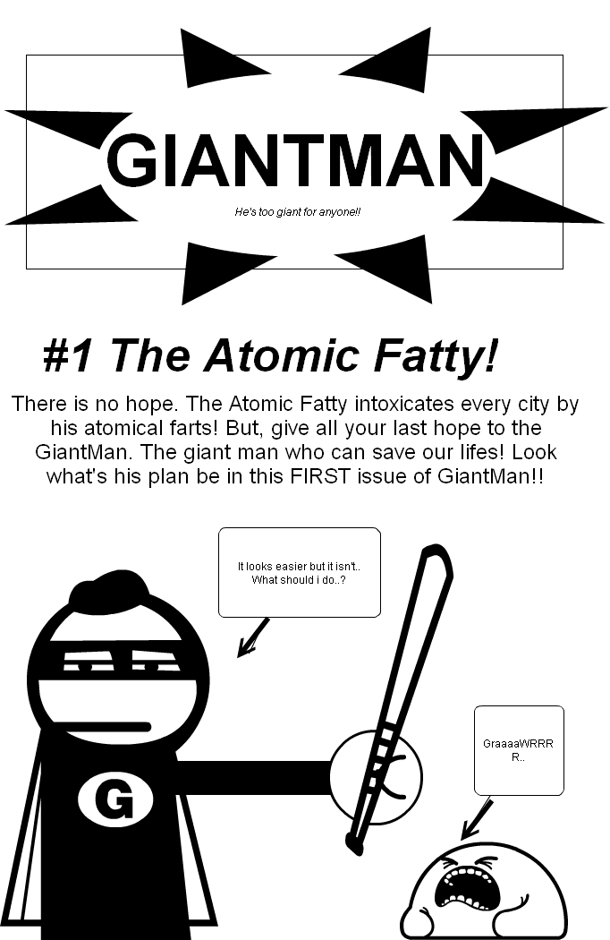 #1 GiantMan Front Cover (Coming Soon!)