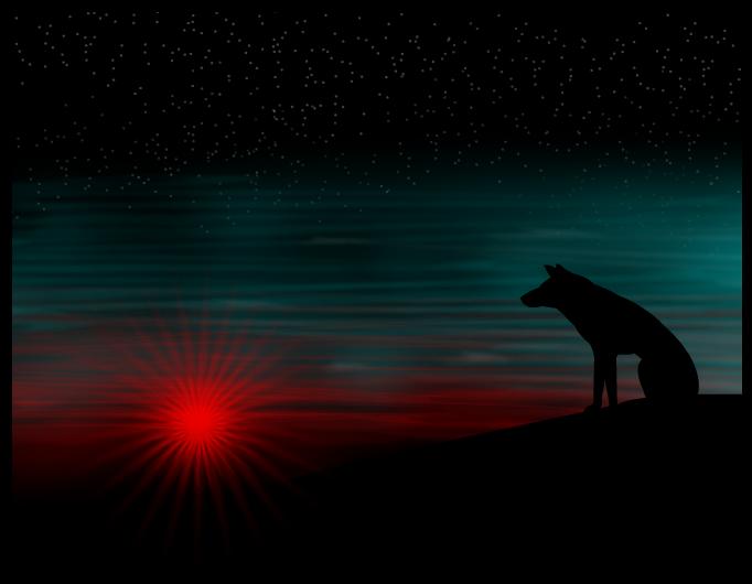 Awaiting moonrise