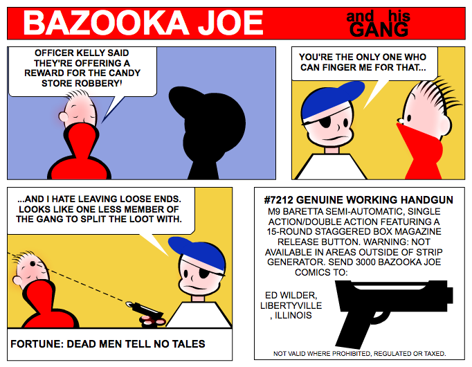 Joe Bazooka Pictures News Information From The Web