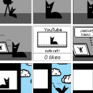 the story of a cat on the way to the YouTubeStar