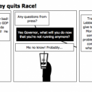 This just in... Romney quits Race!