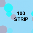 100 strip