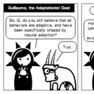 Guillaume the Adaptationist Goat