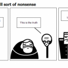 Conspiracies start all sort of nonsense