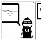 WATER MAN SAVES THE KID