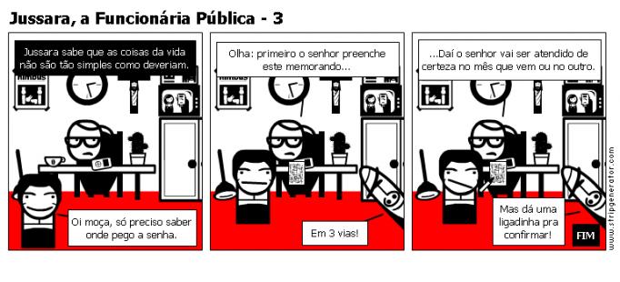 Jussara, a Funcionária Pública - 3