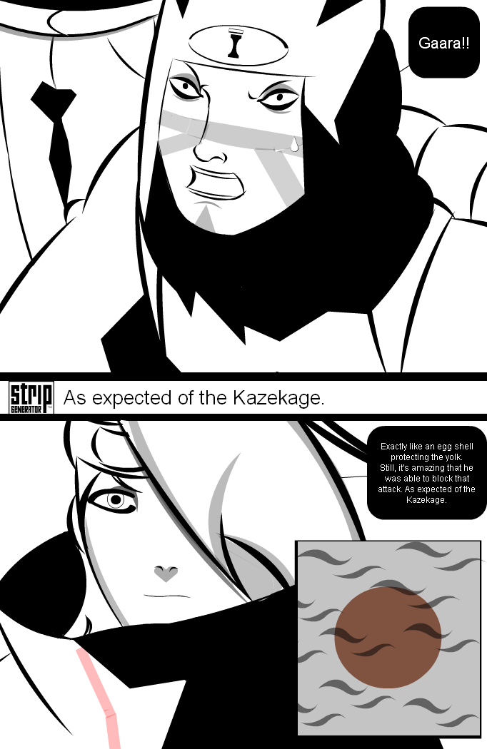 As expected of the Kazekage.