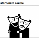 The misfortunate couple
