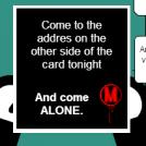 A familiar invitation
