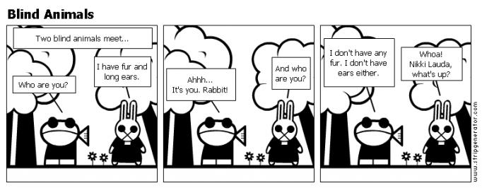 Blind Animals