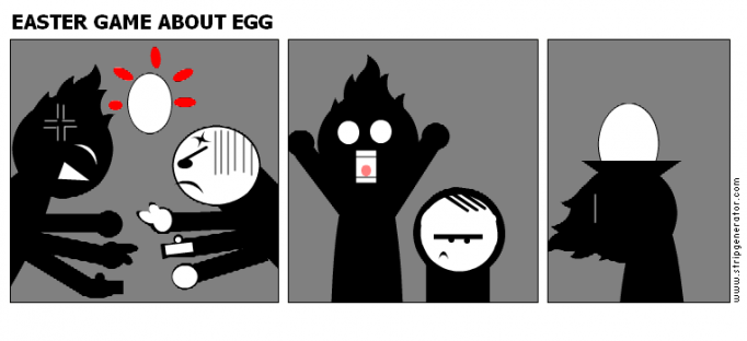 EASTER GAME ABOUT EGG