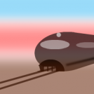 Futurama, Magnetic train