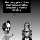 ROBOT with BRAIN !!