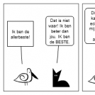 the bird and the cat