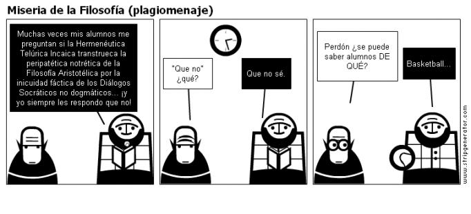Miseria de la Filosofía (plagiomenaje)