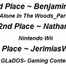 Gaming Contest Results