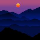 Deep Blue Hills