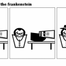 the enlightening of the frankenstein
