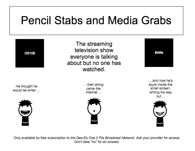 Pencil Stabs and Media Grabs