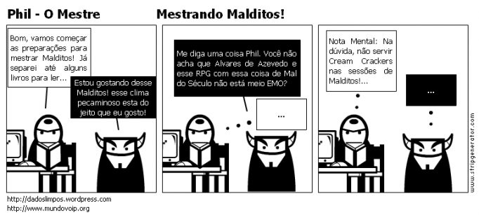 Phil - O Mestre               Mestrando Malditos!