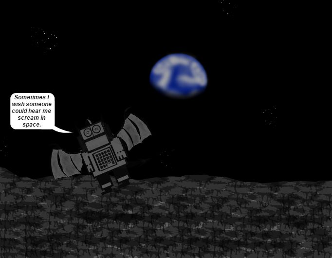 Craigbot In Space