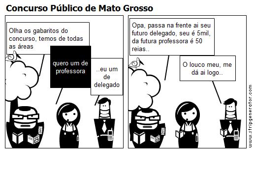 Concurso Público de Mato Grosso