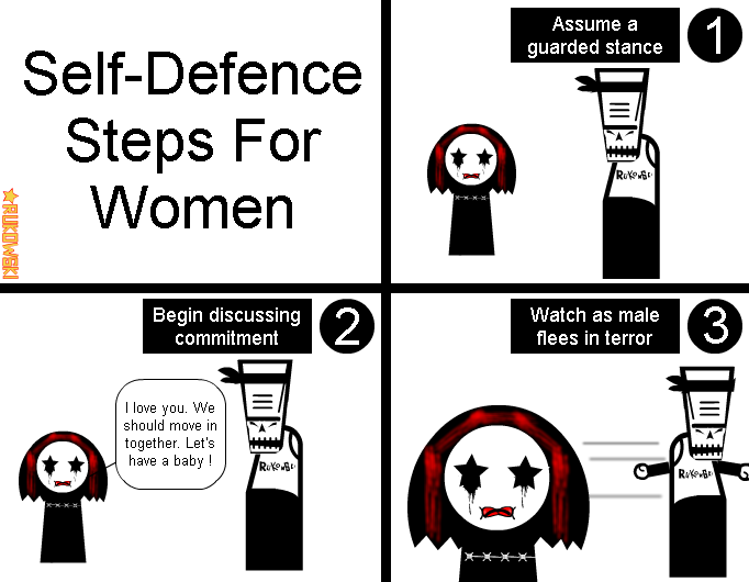 Self-Defence Steps For Women