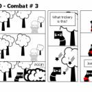 Elevator Comic # 40 - Combat # 3