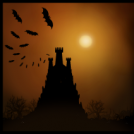 Halloween landscape