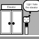 Unfinished Elevator Strip