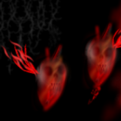 Dos corazones como fantasmas