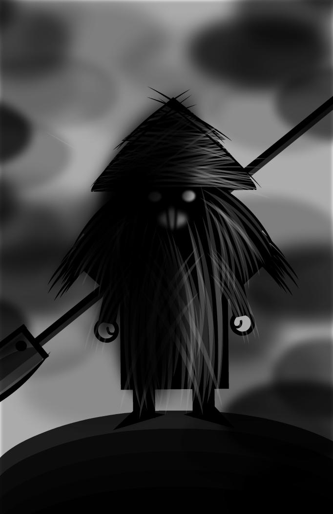 Warrior Sketch - Detective