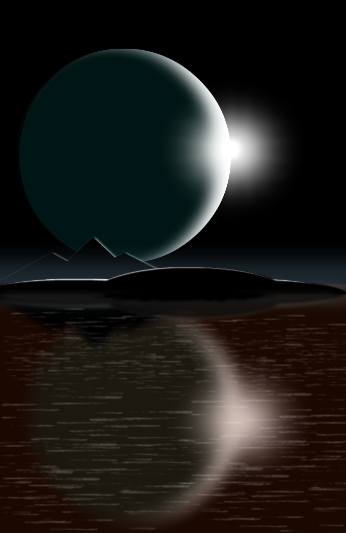 Ice Moon Eclipse