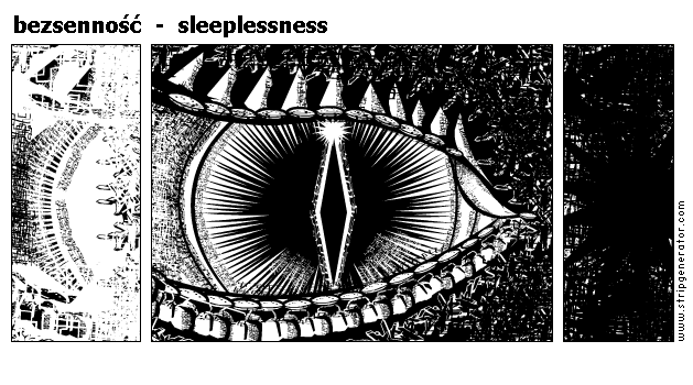 bezsenność  -  sleeplessness
