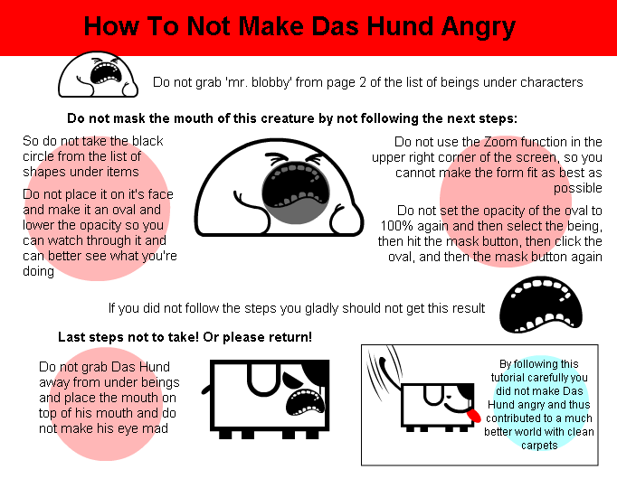 Tutorial - How To Not Make Das Hund Angry