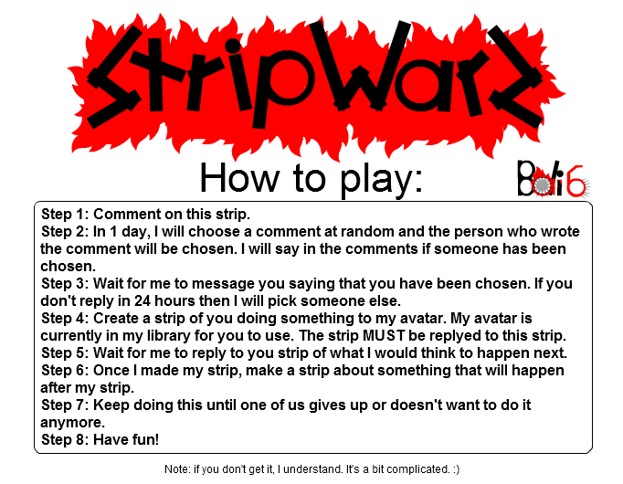 STRIP WARZ &amp; Instructions
