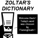 Zoltar's Dictionary - 3