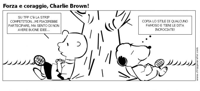 Amato Stripgenerator.com - Forza e coraggio, Charlie Brown! OT12