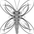 Line Art Butterfly