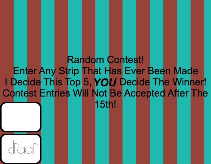 DLRAAR Random Contest!