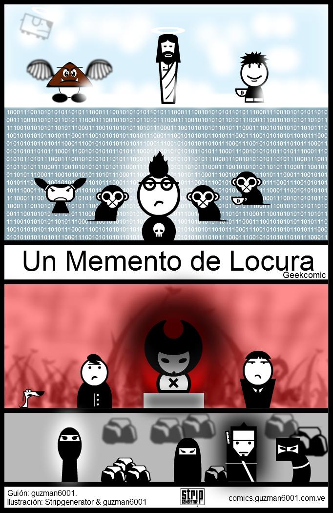 [Cover] - Un Memento de Locura