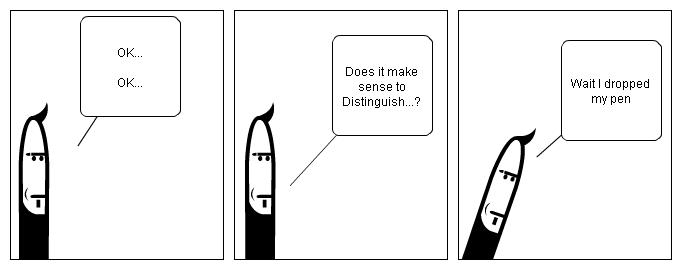 Distinguishing Pens