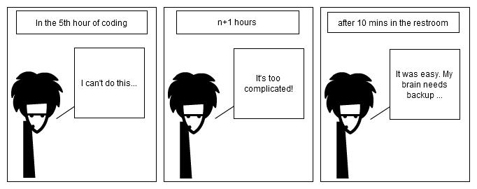 coding kills brain