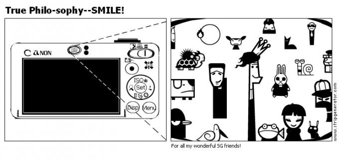 True Philo-sophy--SMILE!