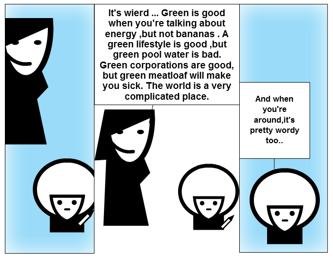 talking green