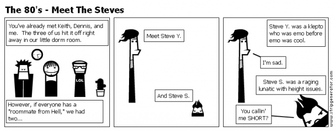 The 80's - Meet The Steves