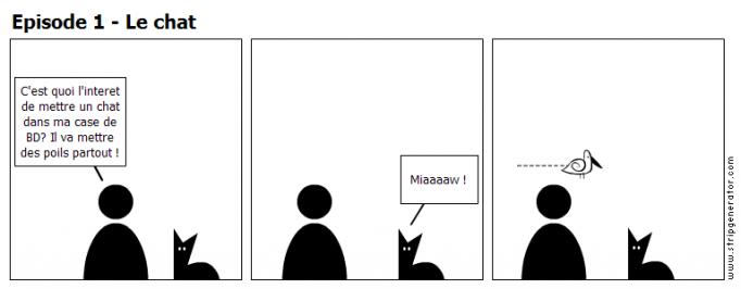 Episode 1 - Le chat
