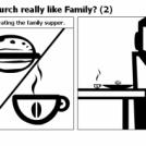 Is Church really like Family? (2)