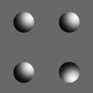 Optical Illusion - Form Through Shadow