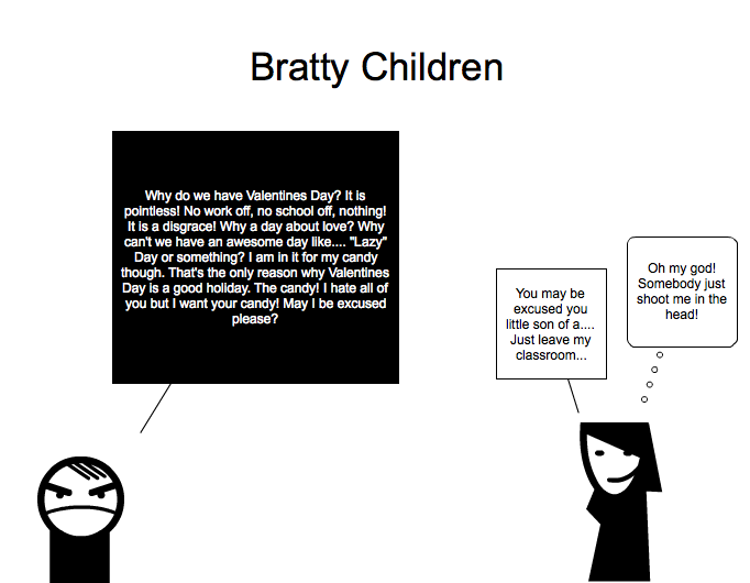 Little Bratty Children